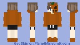 🎃 𝒫 𝓊 𝓂 𝓅 𝓀 𝒾 𝓃 🎃 Minecraft Skin