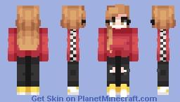 συт σf иαмєѕ ~Inspirinq (RCE) Minecraft Skin