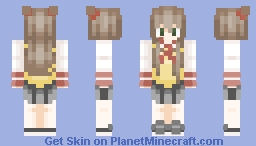 School Girl Minecraft Skin