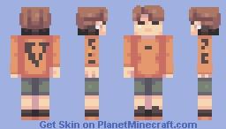 Jimin Minecraft Skin