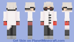 Evil Doctor (who cannot perform head surgeries) Minecraft Skin