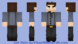 Arthur Morgan - Red Dead Redemption II Hype Minecraft Skin