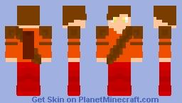 Awesome Autumn archer Minecraft Skin
