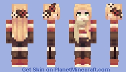 OC - Autumn Minecraft Skin