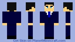 Bashar Al-Assad, President of Syria Minecraft Skin