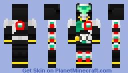 Kamen Rider Birth Prototype Minecraft Skin
