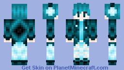 The Blue Gamer Minecraft Skin