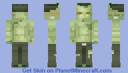 Lonesome Hallow's Eve Minecraft Skin