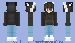 Skintober Day 11 | 🐈 Cat 🐈 | ~𝘈𝘭𝘺𝘴𝘴𝘢~ Minecraft Skin