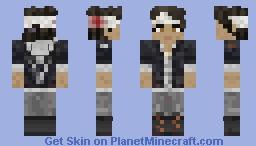 Clementine Head Injury  [4x01] // (TWD Final Season) Minecraft Skin