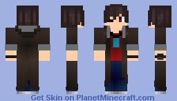 Yuu Otosaka [One Eyed Reaper] Minecraft Skin