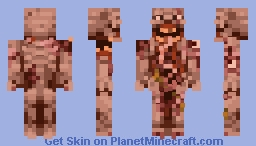 Distorted In Pain Minecraft Skin
