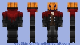 Headless Horseman (Pumpkin) Minecraft Skin