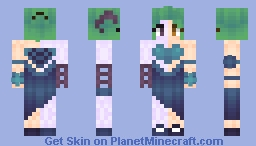 ❆𝓝𝓲𝓷𝓳𝓪𝓖𝓲𝓻𝓵2024❆ Monster Or Human? ~ CE/OC Minecraft Skin