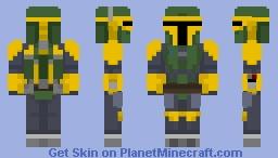 Jodo Kast - Star Wars: Masters of Teras Kasi Minecraft Skin