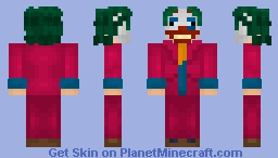 The Joker - DC - JaxSkins - Series 4 Minecraft Skin