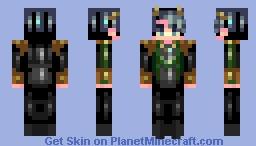 god of mischief Minecraft Skin
