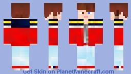 Marshall(Prince Zack) Minecraft Skin