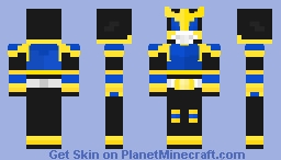 Kamen Rider Kuuga Rising Dragon Form Minecraft Skin