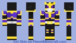 Kamen Rider Kuuga Rising Titan Form Minecraft Skin