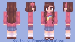 "📜ℭ𝔥𝔞𝔟𝔦𝔩𝔲𝔩𝔲📜""Shooting Star"" [CE] Minecraft Skin"