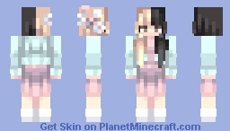 ℒℰΔ ☪ Melanie Martinez (Milk and Cookies) Minecraft Skin
