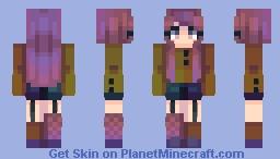 Uh oh Minecraft Skin