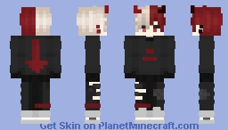 OUTSIDER Minecraft Skin