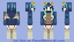 phantom mob talker costume! ˣᶜˣ Minecraft Skin