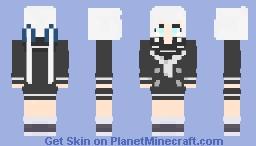 紺野 純子 Junko Konno, Zombieland Saga Minecraft Skin