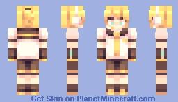 ボーカロイド鏡音レン Minecraft Skin