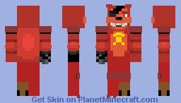 rockstar foxy (not finished) Minecraft