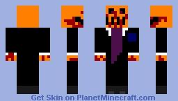 spooky pumpkin Minecraft Skin