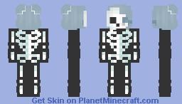 .:Spooky Scary skeletons:. Minecraft Skin