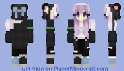 *Repost* Lilac - OC Minecraft Skin