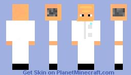 Scientist!  (Laboratory Experiments Skin Contest) Minecraft Skin