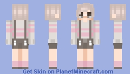 flip this is the best I can do Minecraft Skin