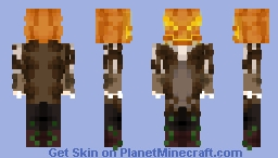 🎃'O I'm not scary at all, not at all!🎃 [Halloween] Minecraft Skin