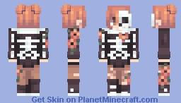 ★ bones Minecraft Skin