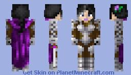 Sombra la noire Minecraft Skin