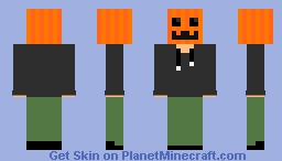 Howdy there you can call me Pumpkin Pie Minecraft Skin