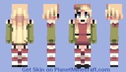 Candy Cane | OC Minecraft Skin