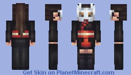Skintober day 8: Masked Minecraft