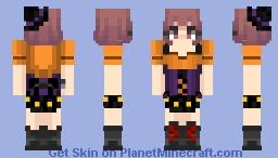 little uraraka witch Minecraft Skin