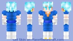 Vegito Super Saiyan Blue Minecraft Skin