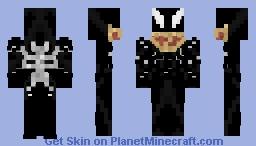 Venom [Venom Suit]: Venom Symbiote Full Body Minecraft Skin
