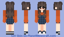 Veronica OC Minecraft Skin