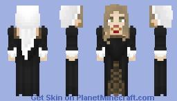 [LotC] Black Veiled Gown Minecraft