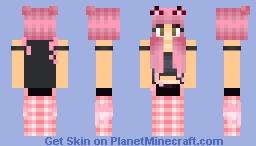 [𝒫𝓇𝒾𝓃𝒸𝑒𝓈𝓈]  Kitty. Minecraft Skin