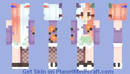 a halloweeen skin lol ♡ Minecraft Skin